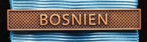 Bandspänne - BOSNIEN - till stor medalj