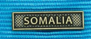 Bandspänne - SOMALIA - till miniatyrmedalj