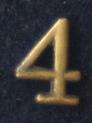 Siffra No:4 till NATO i brons