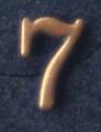 Siffra No:7 till NATO i brons