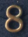 Siffra No:8 till NATO i brons