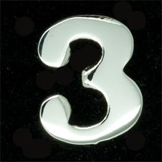 Siffra No:3 till FN släpspänne/medalj