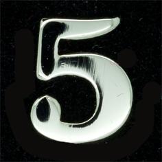 Siffra No:5 till FN släpspänne/medalj