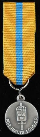 Försvarsmaktens reservofficersmedalj i silver