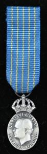 Hemvärnets Kungliga förtjänstmedalj i silver