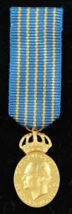 Hemvärnets Kungliga förtjänstmedalj i guld
