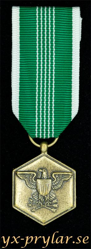 Army Commendation medal miniatyrmedalj i brons