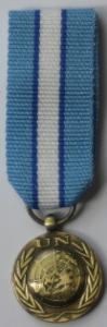 UNFICYP miniatyrmedalj