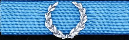 Försvarsmaktens medalj för internatioenlla insatser i brons med lagerkrans