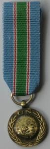 UNIFIL miniatyrmedalj