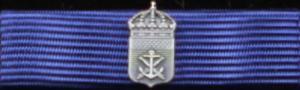 Marinbasens förtjänstmedalj i silver
