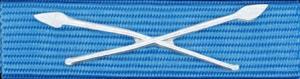 Försvarsmaktens medalj för internatioenlla insatser i brons med korslagda spjut