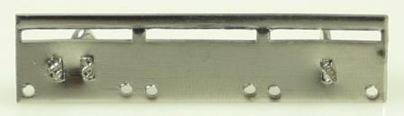 Monteringsskena för 3 miniatyrmedaljer
