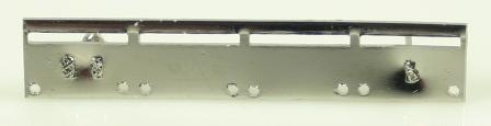 Monteringsskena för 4 miniatyrmedaljer