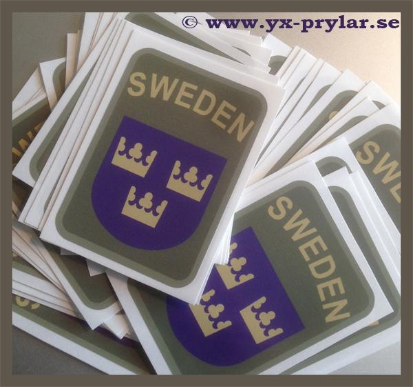 SWEDEN dekal