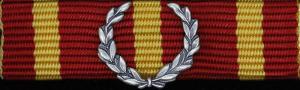 Militärhögskolan Halmstads förtjänstmedalj i silver (MHS H)