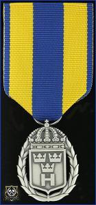 Hemvärnets tjänstgöringsmedalj i silver
