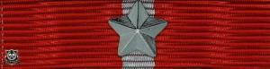 Forsvarsmedaljen med 1 stjerne (*)