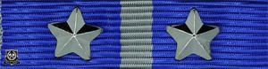 Forsvarets medalje for internasjonale operasjoner med 2 stjerner (**)