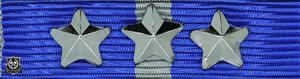 Forsvarets medalje for internasjonale operasjoner med 3 stjerner (***)