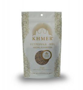 Vitpeppar ekologiskt odlad  Khmer Areng