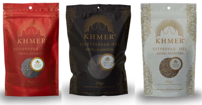 Peppardeal med  Khmerpeppar