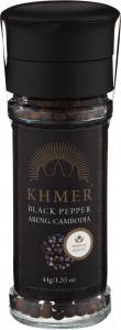 Khmer Svartpeppar i kvarn 44 gram