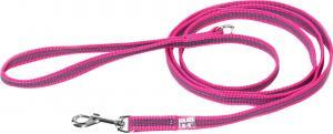 Color&Gray-S. grip line,rosa/grå,14mm/2m,m/handtag ,max 30kg