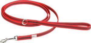 Color&Gray-S. grip line,röd/grå,14mm/2m,m/handtag,max 30kg