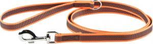 Color&Gray-S.grip line,orange/grå,20mm/2m,m/handtag,max 50kg