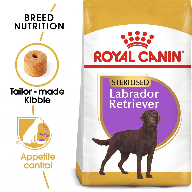 Labrador Retriever Sterilised 12 kg