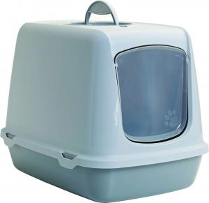 EJ AKTIV Figaro katt-toalett, grå/vit