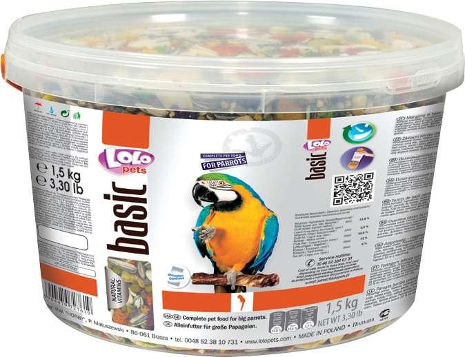 Papegojafoder 1500g
