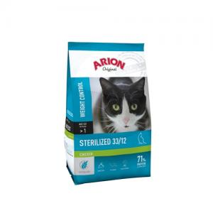 Arion ORIGINAL CAT STERILIZED CHICKEN 7,5 kg