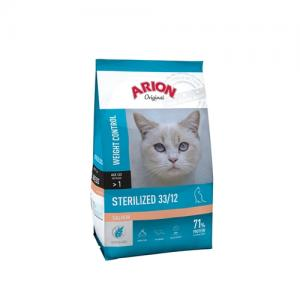 Arion ORIGINAL CAT STERILIZED SALMON 2 kg