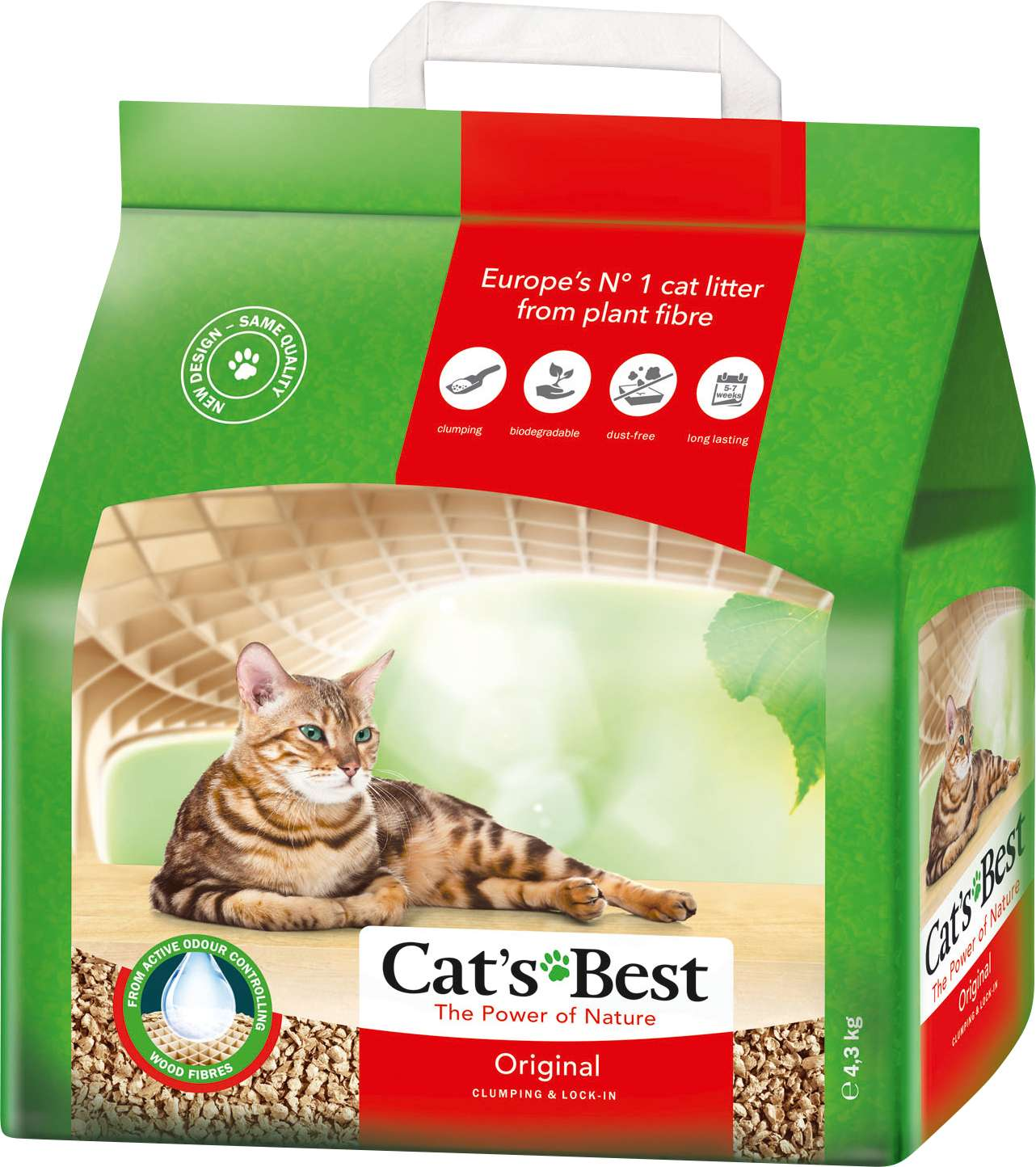 Cats Best Öko Plus 10L