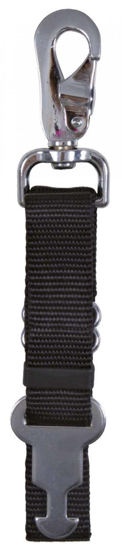 Afløsning line, kort, med udløser krog, 45~70 cm/25 mm, sort