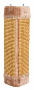 *Kradsebræt for hjørner, 23 × 49 cm, brun