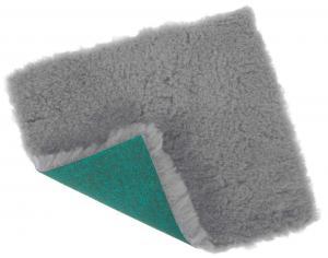 VetBed, grå, 75x100cm, 100grd, hård bagside