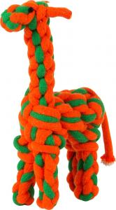 Rebdyr med lyd, giraf, ass., 26 cm
