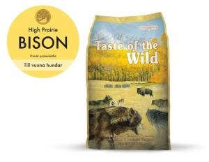 Taste of the wild High Prairie, Bison 13 kg