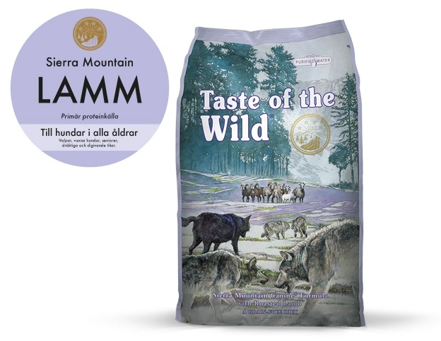 Taste of the wild Sierra Mountain, Lamb 12,2 kg