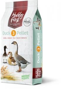 Hobby First, Duck 3 Pellet - Anka fullfoder 20 kg