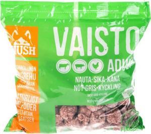 FRYST Mush Vaisto GRÖN Gris/Kyckling/Nöt 3kg