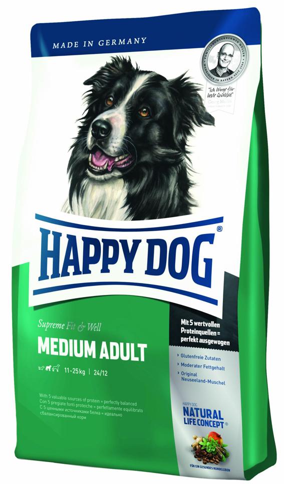 HappyDog Medium Adult 12,5 kg