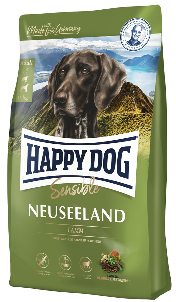 HappyDog Sens.Neuseeland 4 kg
