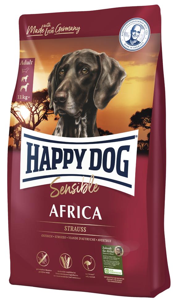 HappyDog Sens.Africa GrainFree 12,5 kg