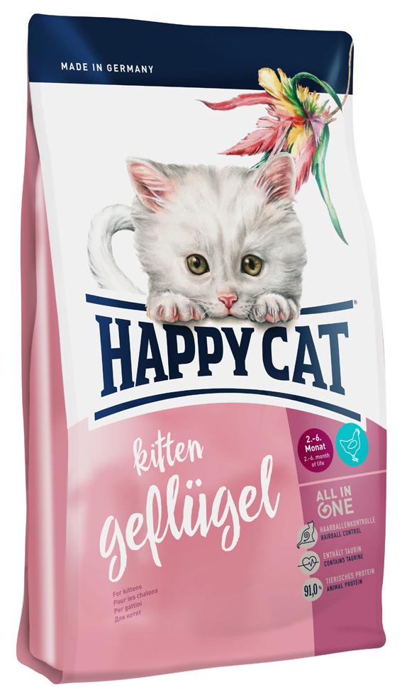 HappyCat Kitten fågel, 300 g