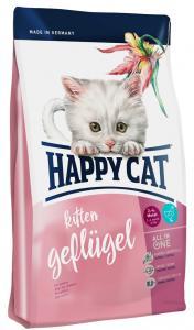 HappyCat Kitten fågel, 4 kg