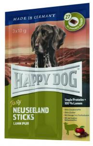 HappyDog Tasty Neuseeland Sticks, lamm 3x10 g